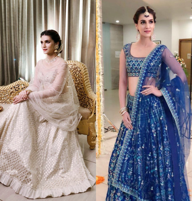 Kriti Sanon as a resplendent bride