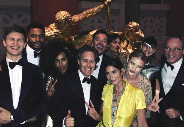 Met Gala 2018: From Rosie Huntington-Whiteley to Jimmy Fallon to Ansel Elgort here's who Priyanka Chopra rubbed shoulders with at the Ralph Lauren table