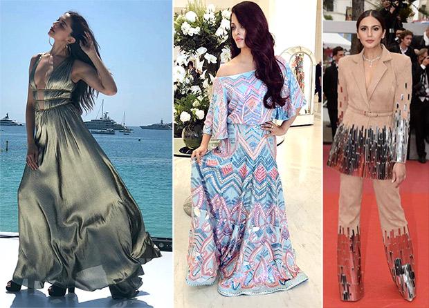 Metallic Mania - Aishwarya Rai Bachchan, Deepika Padukone and Huma Qureshi
