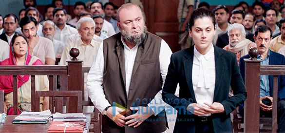 First Look: Taapsee Pannu returns to the courtroom with Rishi Kapoor in Mulk