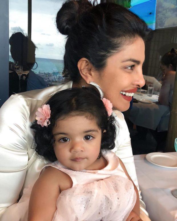 CUTE! Priyanka Chopra spends her Sunday with her cutest little nieces