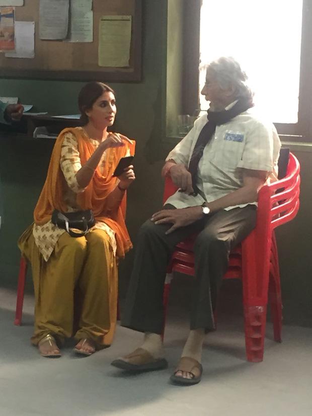 PHOTOS: Shweta Bachchan Nanda makes acting debut with father Amitabh Bachchan
