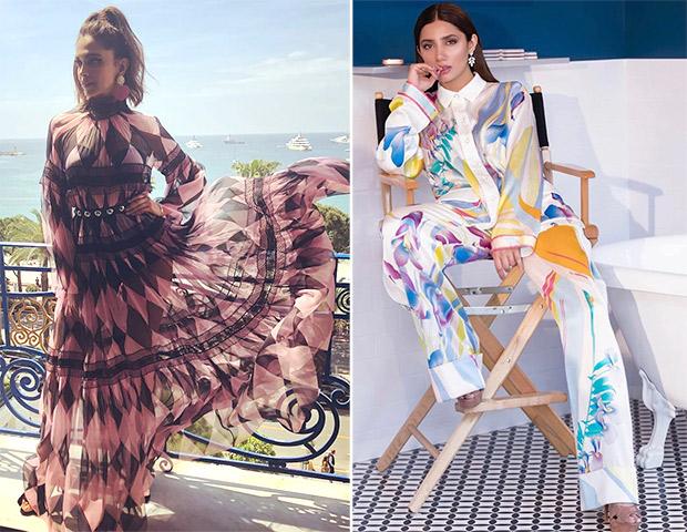 Quirky prints - Deepika Padukone and Huma Qureshi