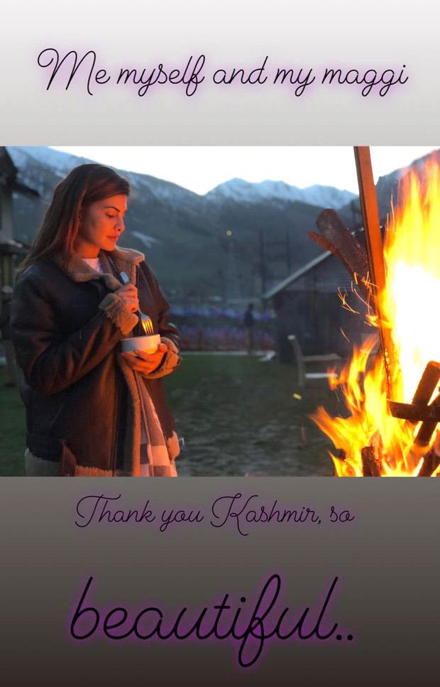 Race 3: Salman Khan and Jacqueline Fernandez enjoy bonfire in Kashmir