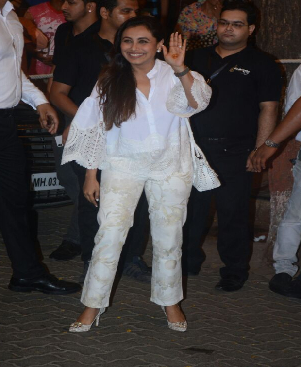 Rani Mukerji at Sonam Kapoor's Mehendi ceremony