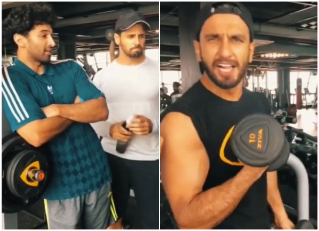 Ranveer Singh is breaking the internet with his HILARIOUS fitness video featuring Sidharth Malhotra and Aditya Roy Kapur