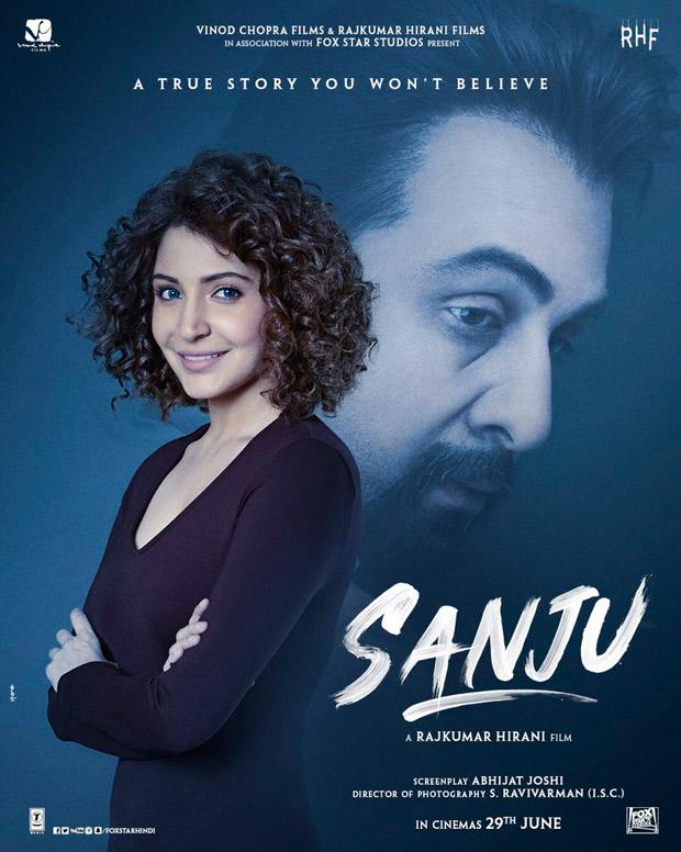 SANJU POSTER: Is Anushka Sharma playing Madhuri Dixit in this Ranbir Kapoor starrer Sanjay Dutt biopic?