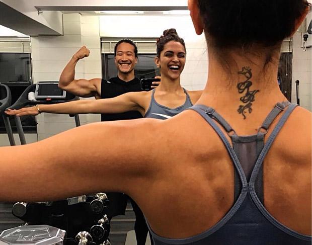 SNEAK PEEK: Here's how the RK tattoo on Deepika Padukone looks like NOW!