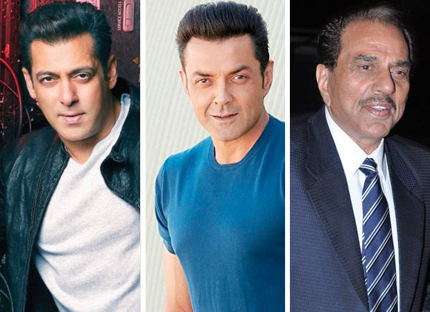 Salman Khan comes to Bobby Deol's rescue, papa Dharmendra can't stop being emotional