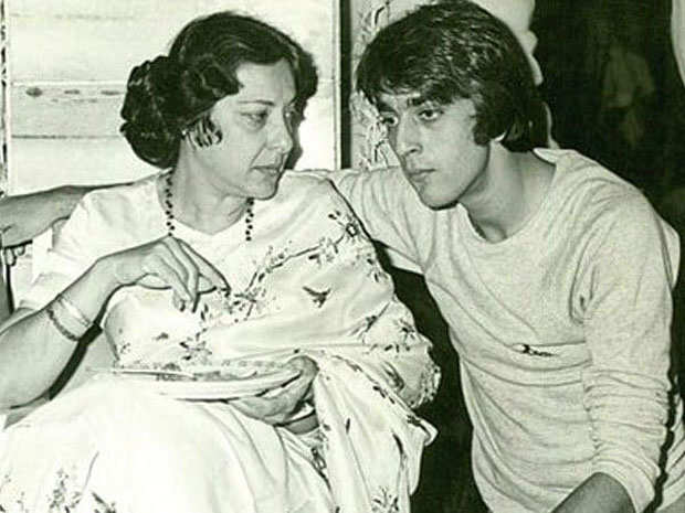 Sanjay Dutt remembers mom Nargis Dutt on her death anniversary with a throwback photo