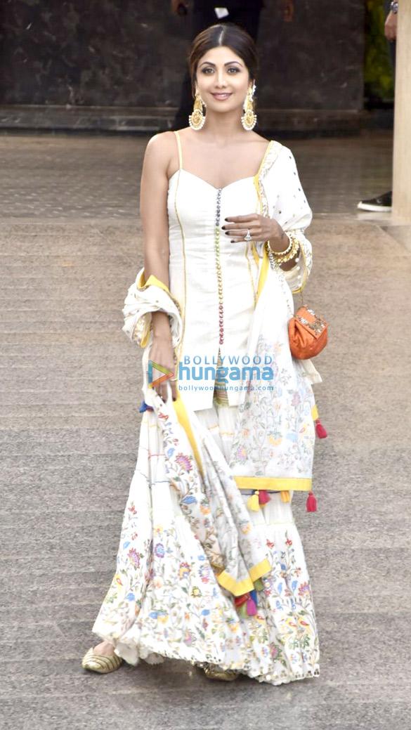 Shilpa Shetty at Sonam Kapoor and Anand Ahuja mehendi and sangeet
