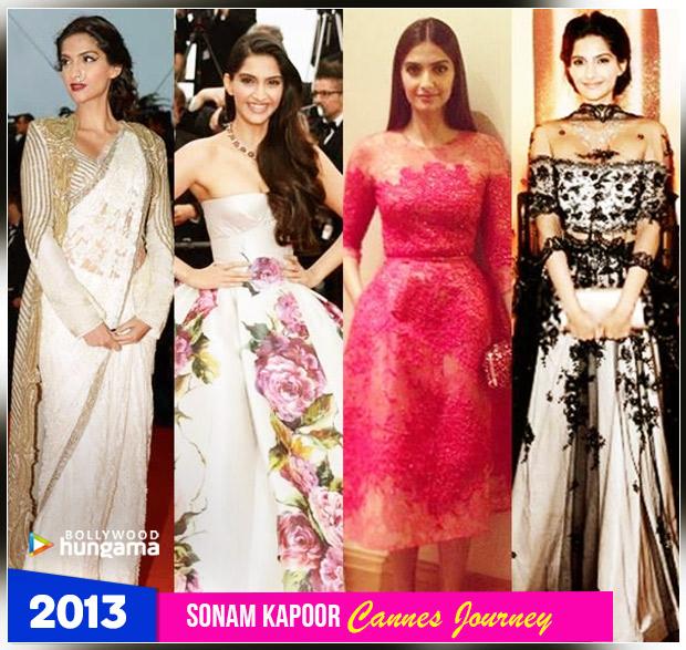Sonam Kapoor Ahuja - Cannes 2013