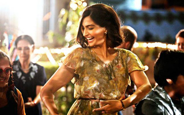 Sanju new poster: Sonam Kapoor gives us serious Neerja feels as she brings back the 80s as Ranbir Kapoor's girlfriend