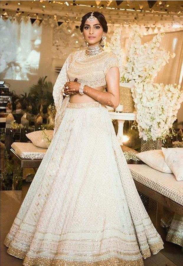 Sonam Kapoor looks resplendent in ivory