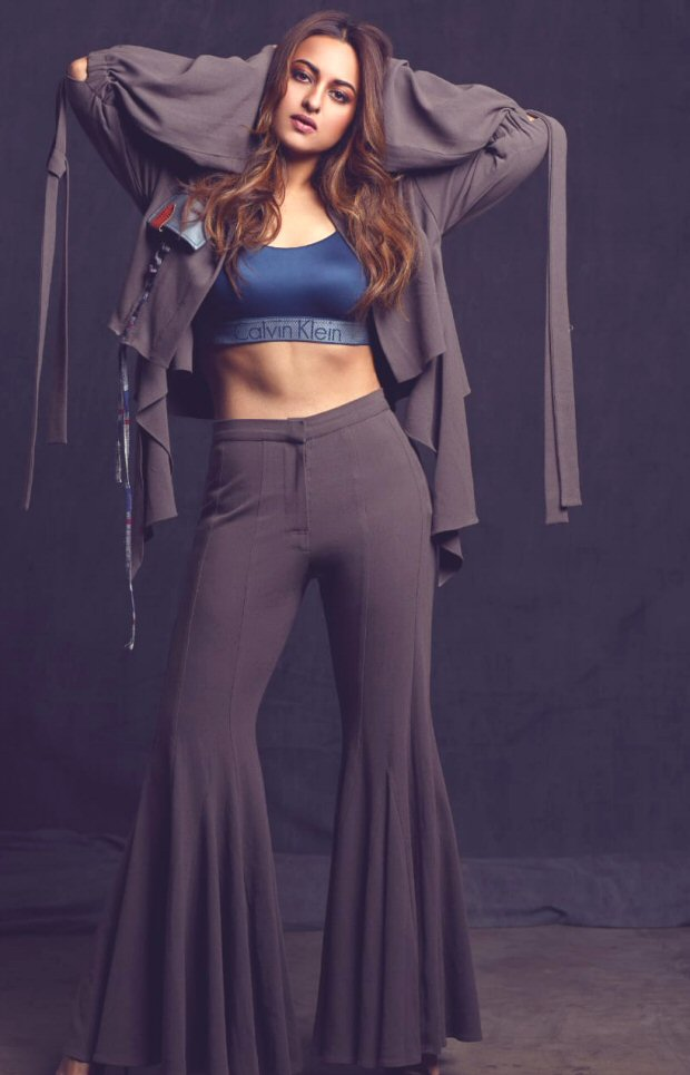 WHOA! Sonakshi Sinha's well-toned abs will give you some serious fitness goals [See pic]