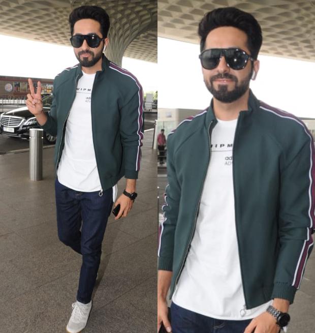 Weekly Celebrity Airport Style- Ayushmann Khurrana