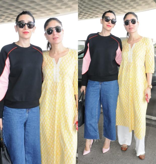 864662bd5c9 Weekly Celebrity Airport Style - Kareena Kapoor Khan and Karisma Kapoor
