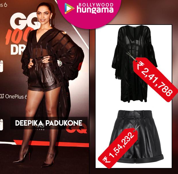Weekly Celebrity Splurges - Deepika Padukone