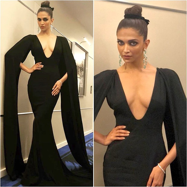 Deepika Padukone sizzles in black at the Chopard party in Cannes