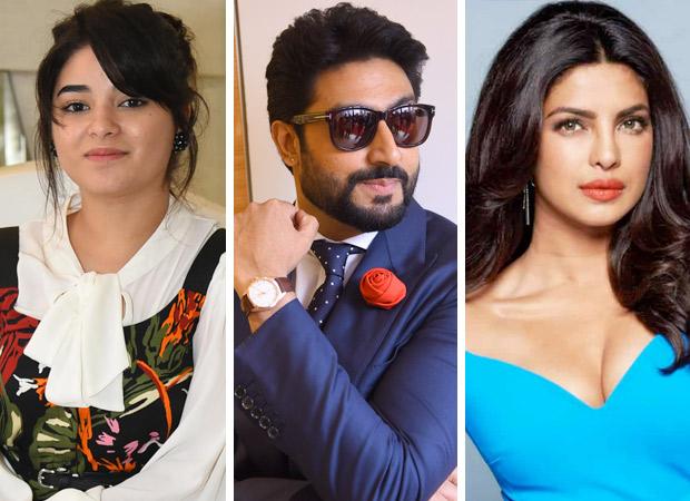 Will Zaira Wasim play Abhishek Bachchan and Priyanka Chopra's DAUGHTER in Shonali Bose's next film?