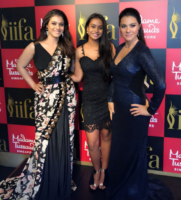 Wow! This is the FIRST WAX STATUE of Kajol and we love it!
