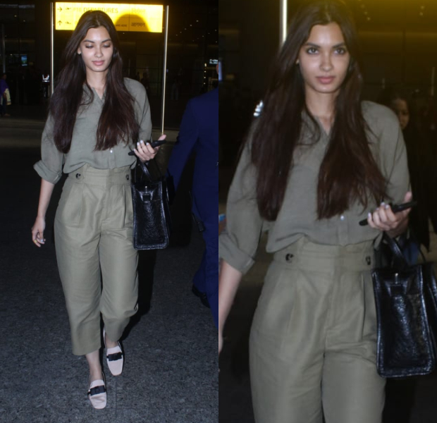 Airport Style - Diana Penty