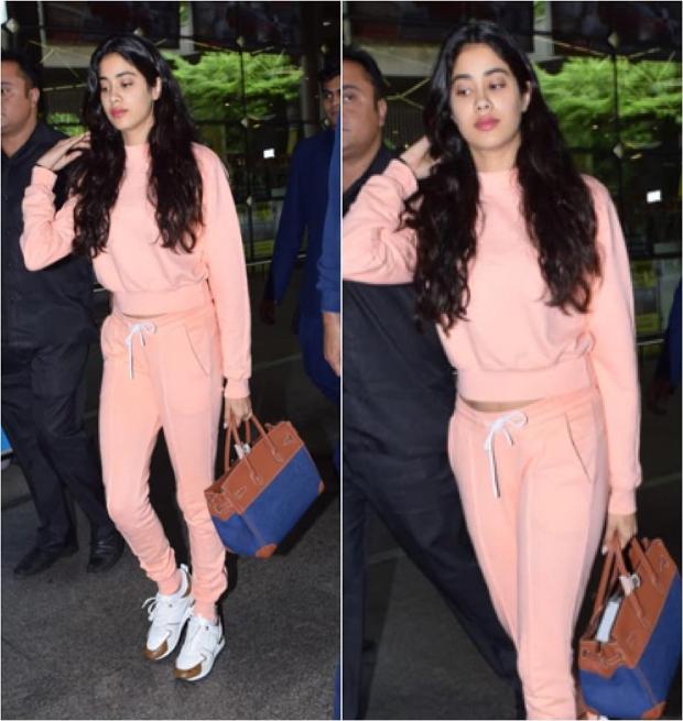 Airport Style - Janhvi Kapoor