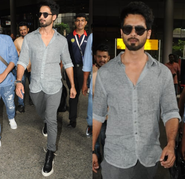 Airport Style - Shahid Kapoor