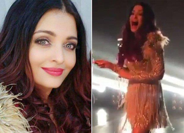 FANNEY KHAN: Aishwarya Rai Bachchan breaks into laughter while shooting a song