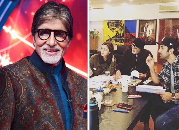 Amitabh Bachchan REVEALS how he chills with Ranbir Kapoor and Alia Bhatt on Brahmastra sets