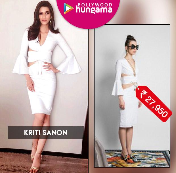 Celebrity Splurges - Kriti Sanon