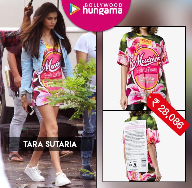 Celebrity Splurges - Tara Sutaria