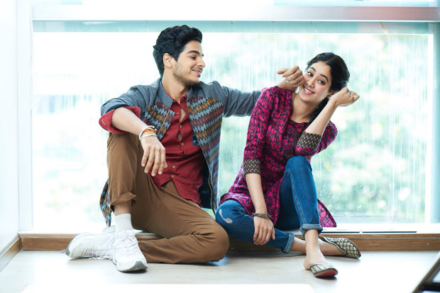 DHADAK Karan Johar to launch the Hindi version of 'Zingat' from the Janhvi Kapoor, Ishaan Khatter film today