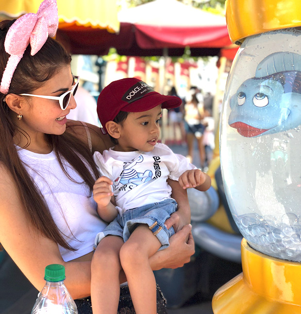 DaBangg Tour: Jacqueline Fernandez bonds with Salman Khan's nephew Ahil Sharma; Daisy Shah unleashes the child in her