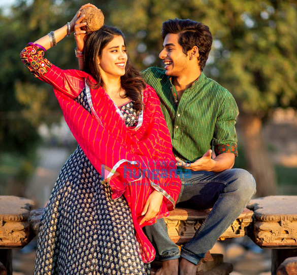 Janhvi Kapoor and Ishaan Khatter look much in love in their latest Dhadak pictures