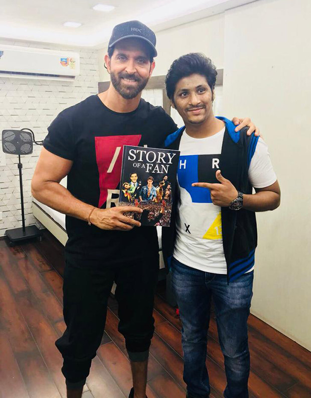Hrithik Roshan receives this UNIQUE GIFT from a fan!