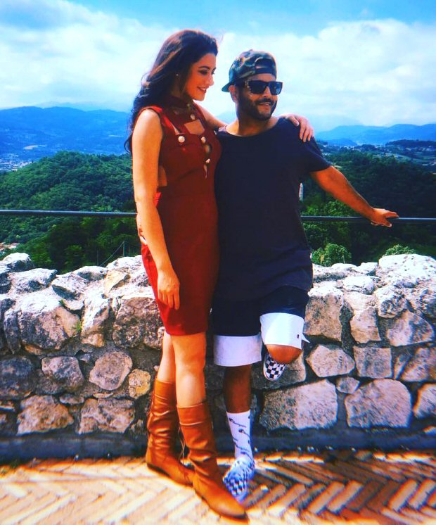 LOVE IN ITALY: Nargis Fakhri and Matt Alonzo take off on a ROMANTIC holiday to Rome and Venice