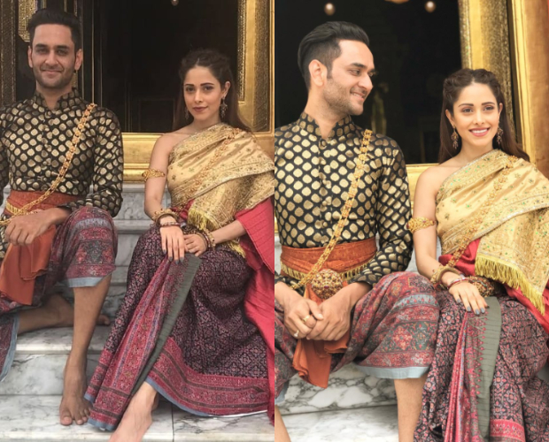 Nushrat Bharucha in traditional Thai wear