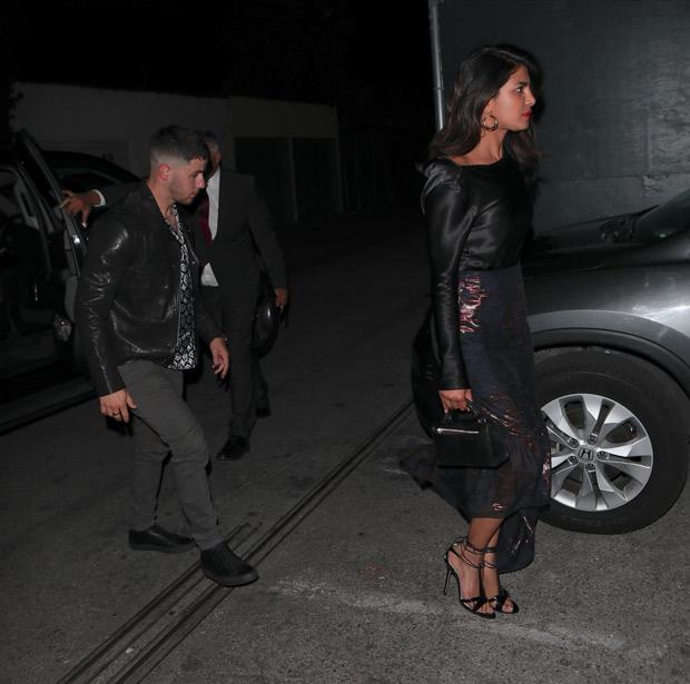 Rumoured couple Priyanka Chopra and Nick Jonas make it a DATE NIGHT and grab intimate dinner in Los Angeles Inbox x