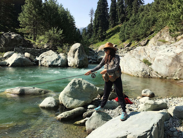 PHOTOS: Chitrangda Singh goes for a trek vacation to Kashmir