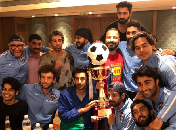Ranbir Kapoor wins celebrity football match