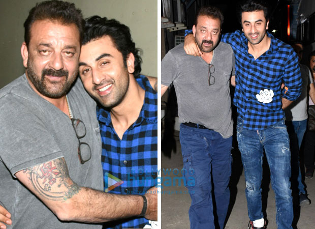SANJU: Ranbir Kapoor's DREAM has finally come true; Sanjay Dutt not just likes but adores him! See pics for proof