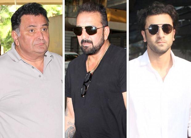 SANJU Rishi Kapoor calls and ABUSES Sanjay Dutt regularly, courtesy Ranbir Kapoor; find out why!