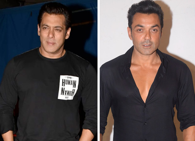 Here's how Salman Khan is planning on shaping Race 3 co-star Bobby Deol's career!