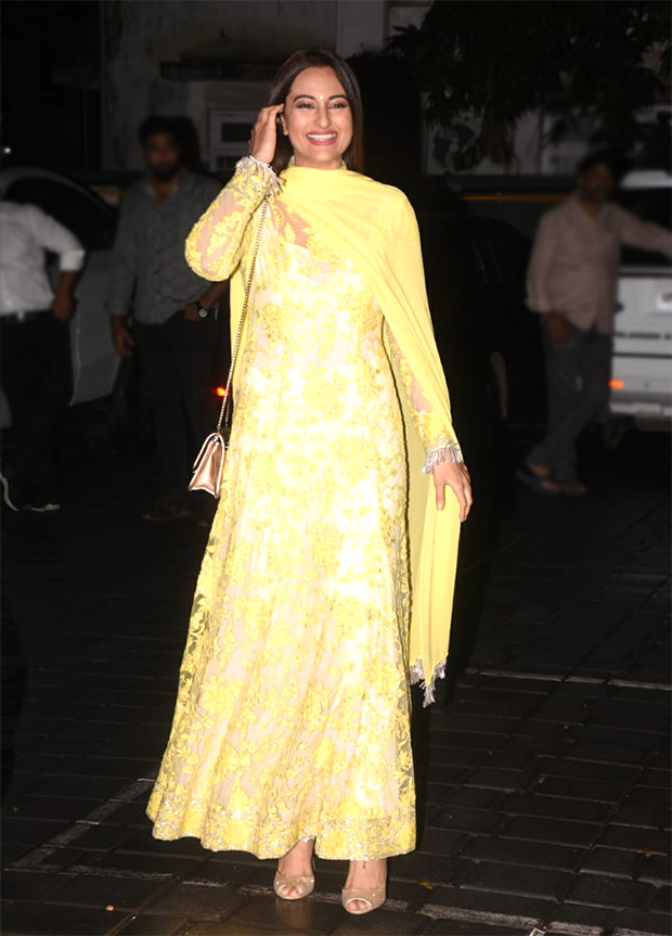 Sonakshi Sinha in Manish Malhotra at Aayush Sharma-Arpita Khan EID Bash