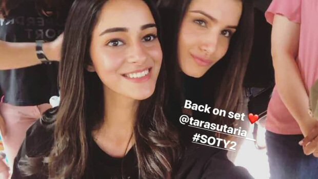 Student Of The Year 2: Tiger Shroff, Ananya Panday and Tara Sutaria return to the sets of the film
