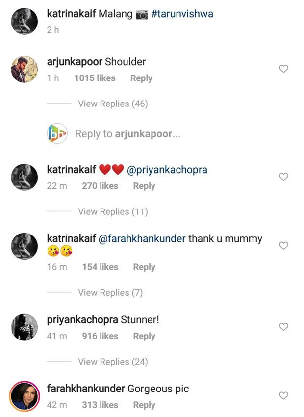 WOW! Katrina Kaif's SUPERHOT picture gets love from Priyanka Chopra and Arjun Kapoor