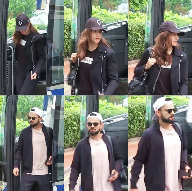 After wrapping up Sui Dhaaga and Zero, Anushka Sharma joins Virat Kohli in Cardiff