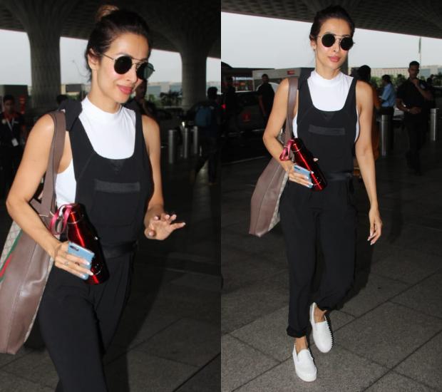 Airport Style - Malaika Arora