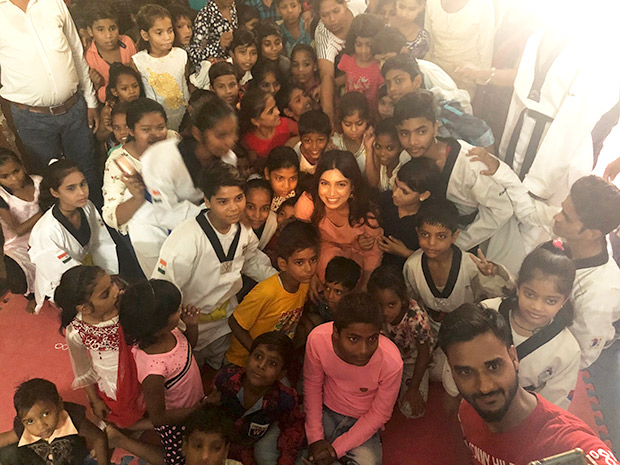 Bhumi Pednekar travels to Chambal to spend time at a children's Ashram